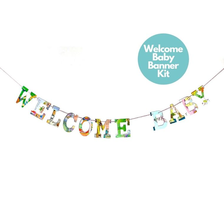 Phrase Garlands- Welcome Baby