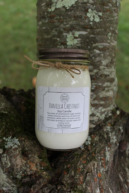 Vanilla Chestnut Soy Candle