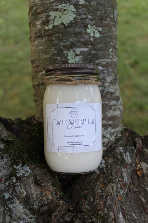 Toasted Marshmallow Soy Candle