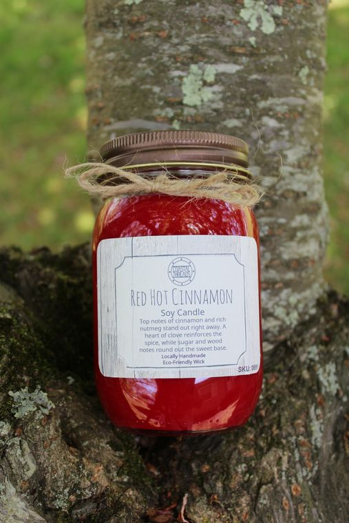 Red Hot Cinnamon Soy Candle