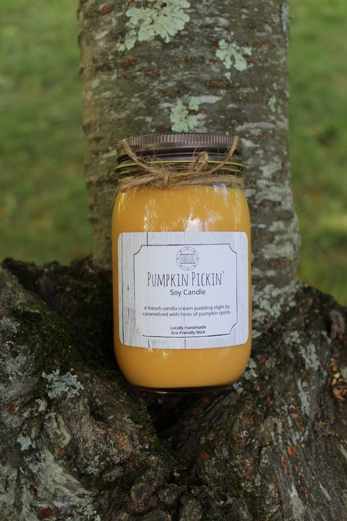 Pumpkin Pickin Soy Candle