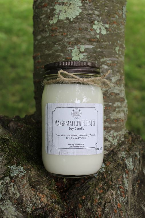 Marshmallow Fireside Soy Candle