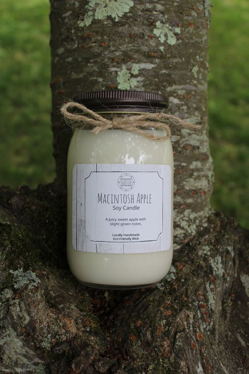 Macintosh Apple Soy Candle