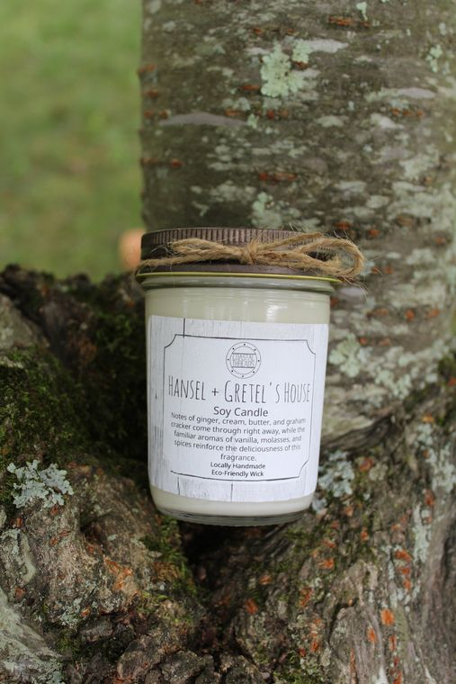 Hansel and Gretel's House Soy Candle