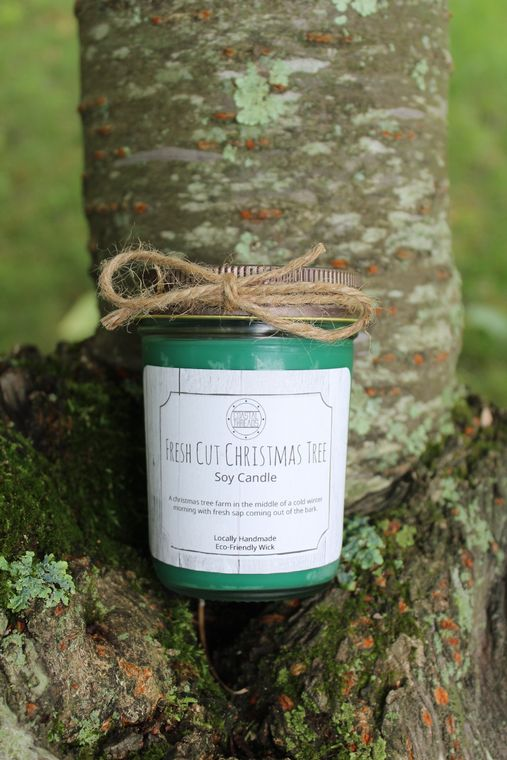 Fresh Cut Christmas Tree Soy Candle