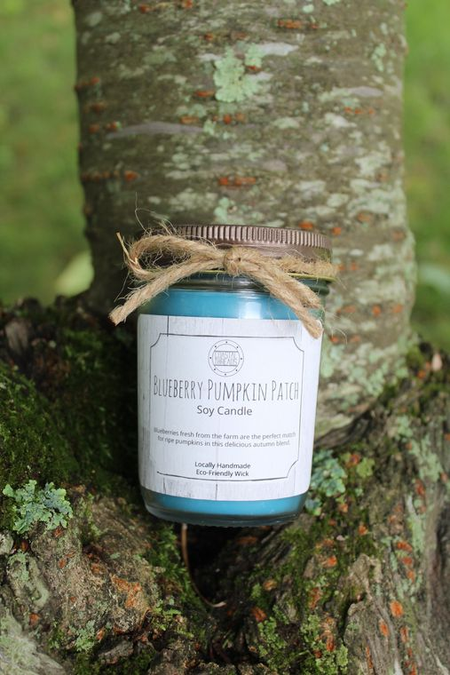 Blueberry Pumpkin Patch Soy Candle