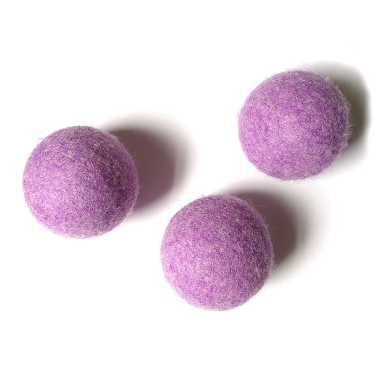 Plum Heather Ball