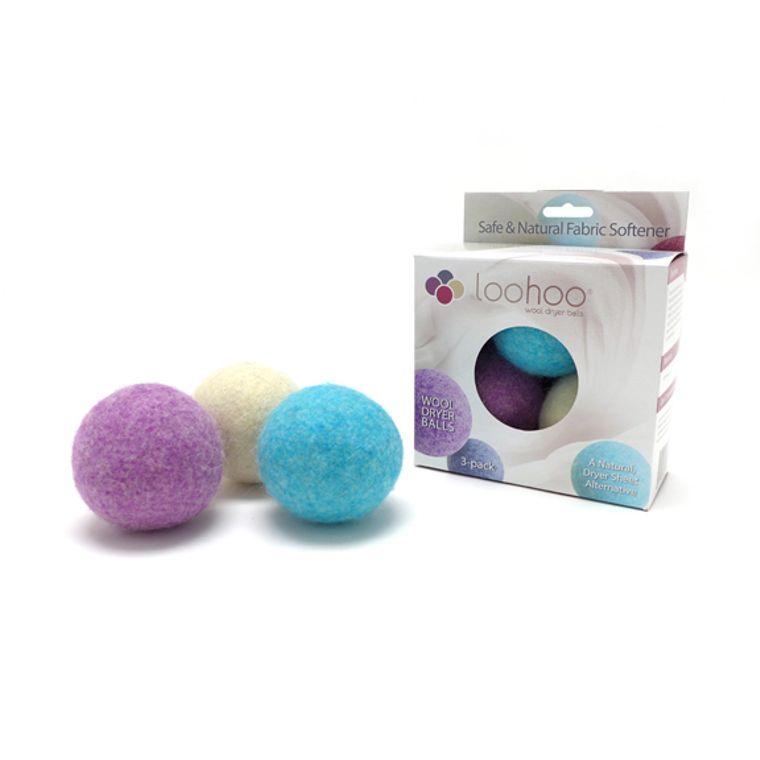 Random Mix Wool Dryer Ball - Pack of 3