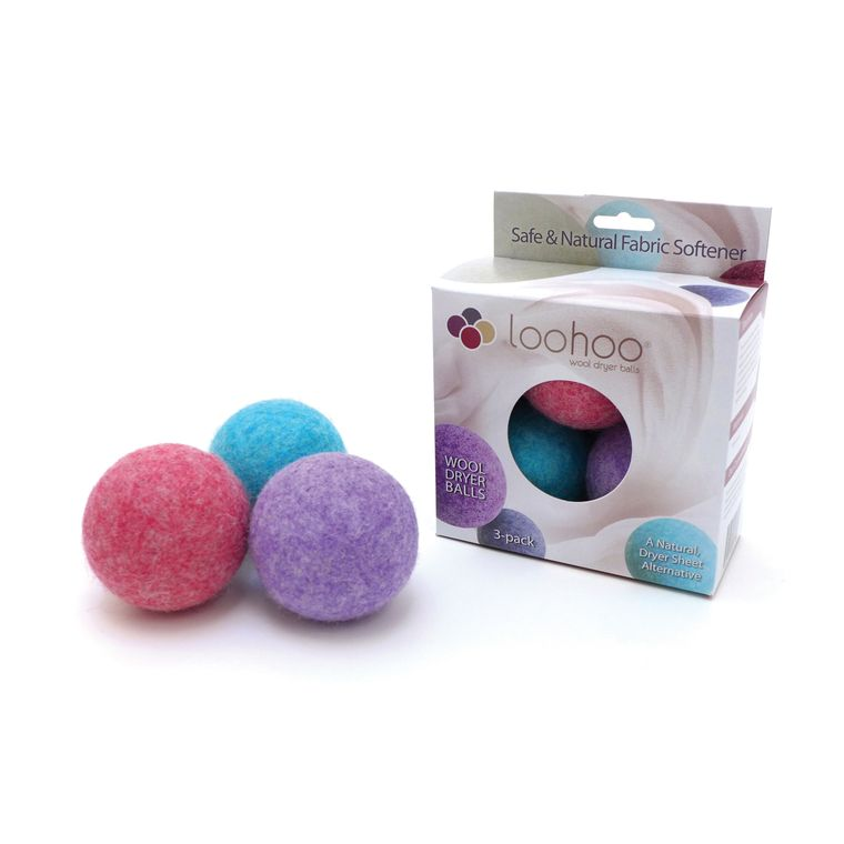 Assorted Colors Dryer Ball - Pack of 3