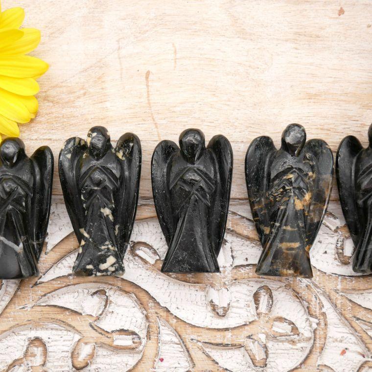Black Tourmaline Angels 2 inch