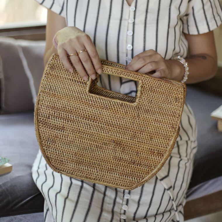 Atta Diana Balinese Rattan Bag (1-3 days)