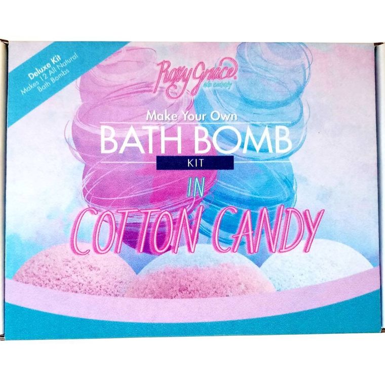 Cotton Candy Bath Bomb Kit