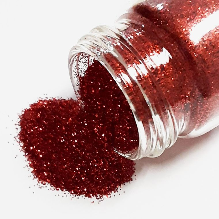 Red glitter - Plant based and cruelty free
