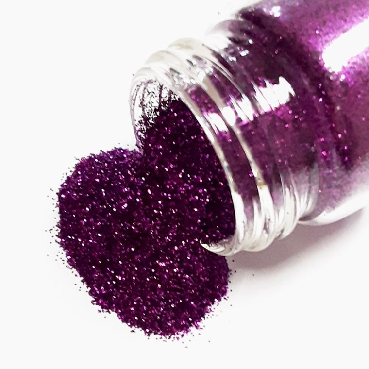 Purple glitter - Plant based and cruelty free