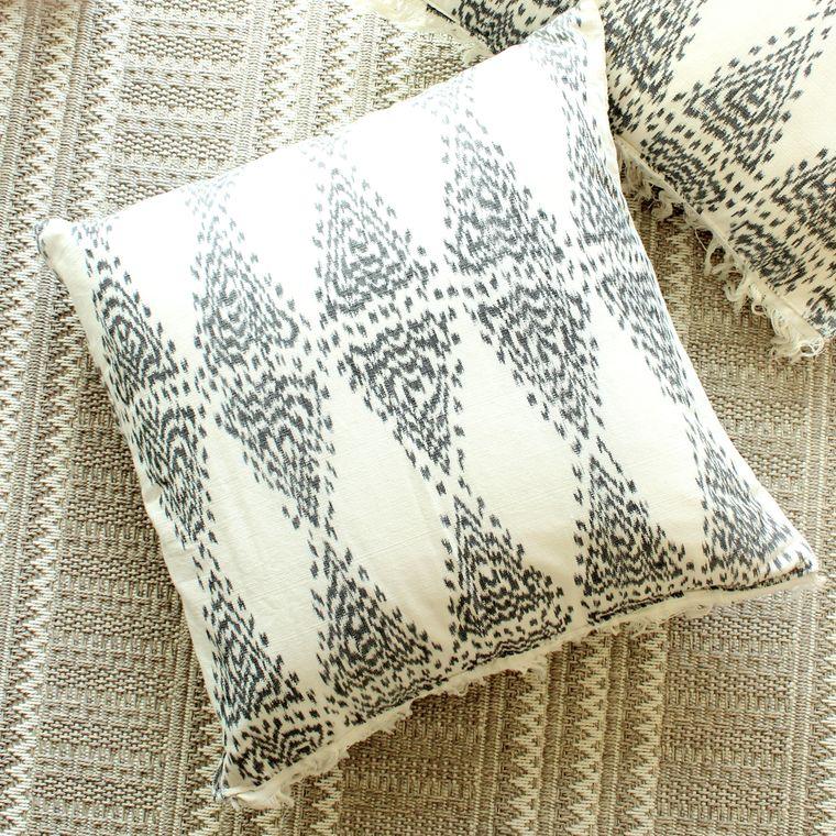 Java Bliss Handwoven Ikat Pillowcase