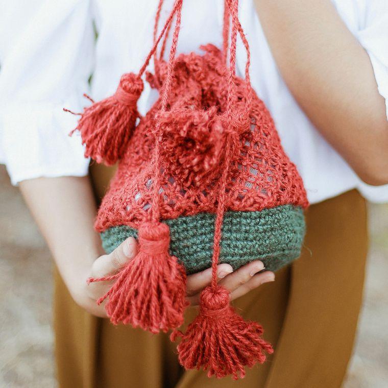 Tori Jute Watermelon Bag