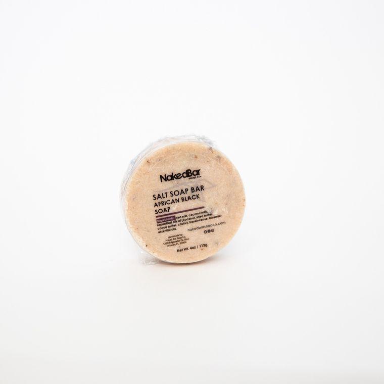 African Black Salt Soap