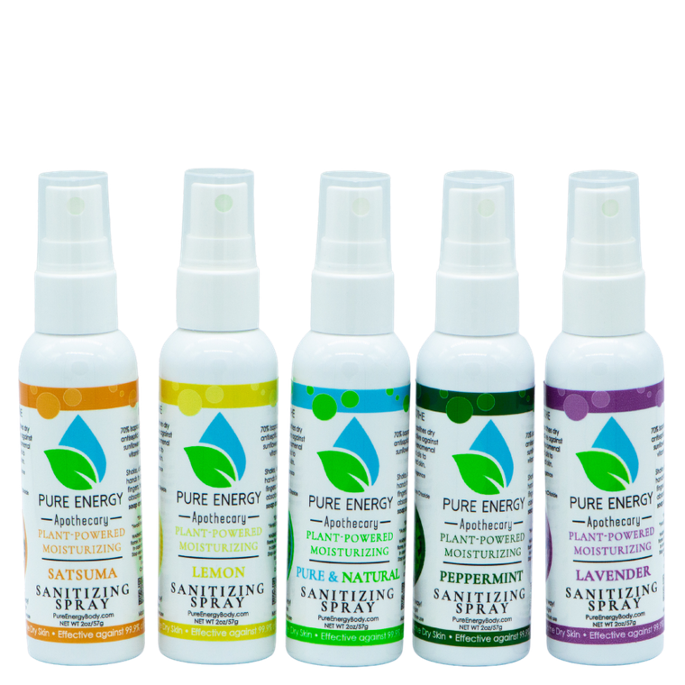 Hand Sanitizer Spray (multi-pack) qty 5 - 2oz bottles