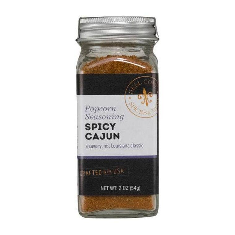 Spicy Cajun Popcorn Seasoning