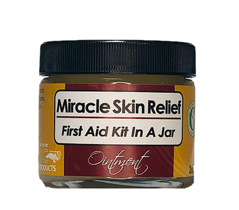 Miracle Skin Relief, First Aid Kit in a Jar