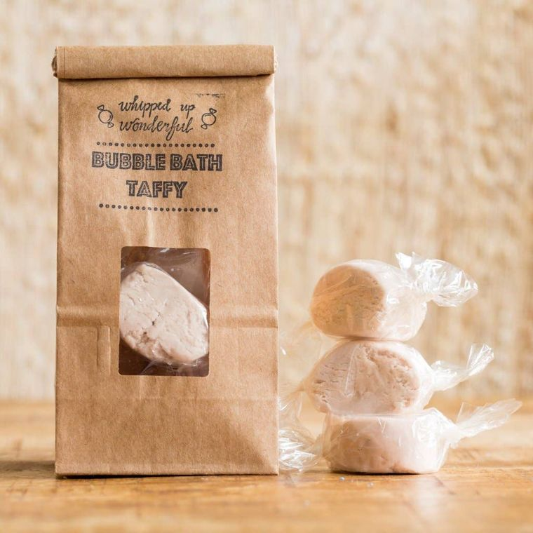 Milk & Honey Bubble Bath Taffy - 6 Pieces