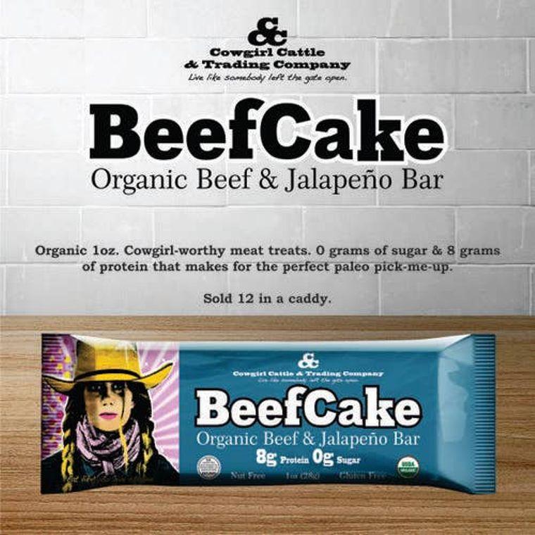 Beefcake Organic Beef and Jalapeño Bar