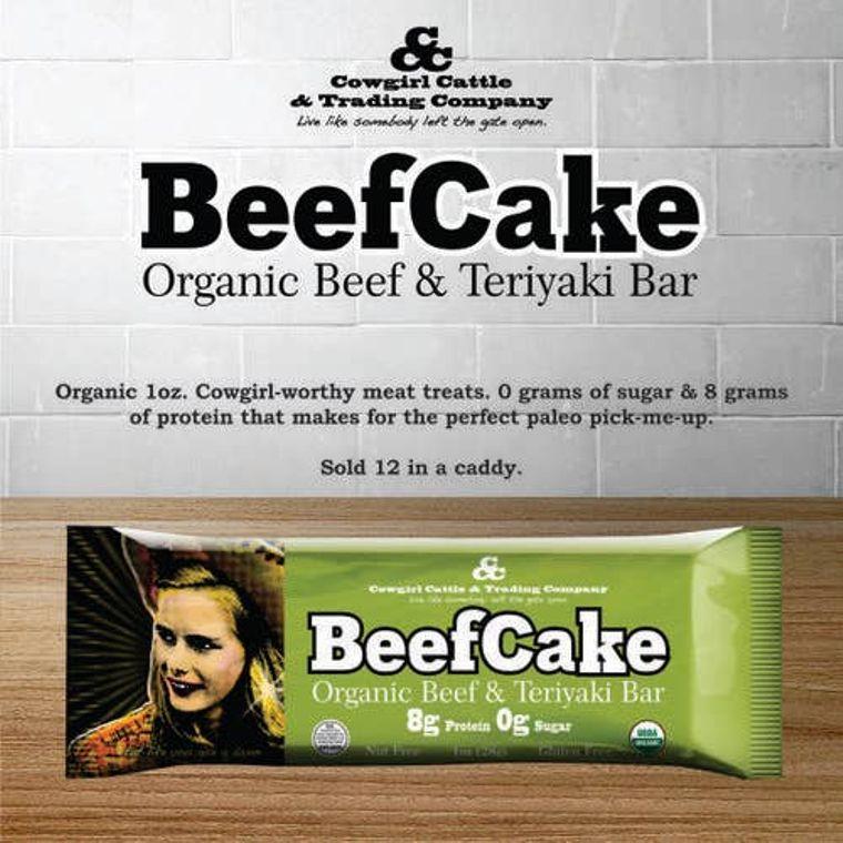 Beefcake Organic Beef and Teriyaki Bar