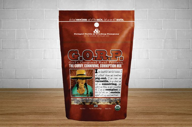 G.O.R.P. The Curvy, Conniving, Conniption Mix 3.0 oz. size.