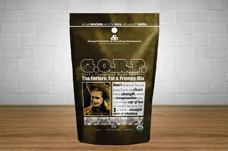 G.O.R.P. The Forlorn, Fat and Frumpy Mix 3.0 oz. size.
