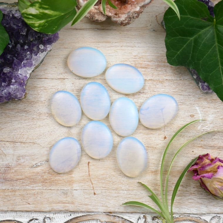 Opalite Worry Stones