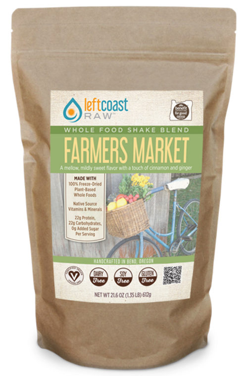 Farmers Market Whole Food Shake Blend 12 Serving Pouch