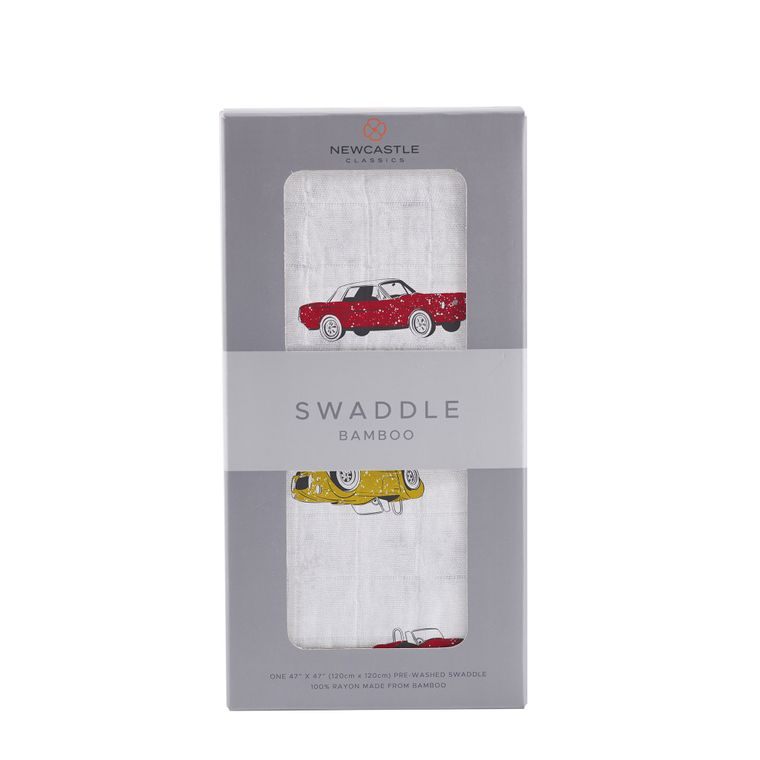 Vintage Muscle Cars Swaddle