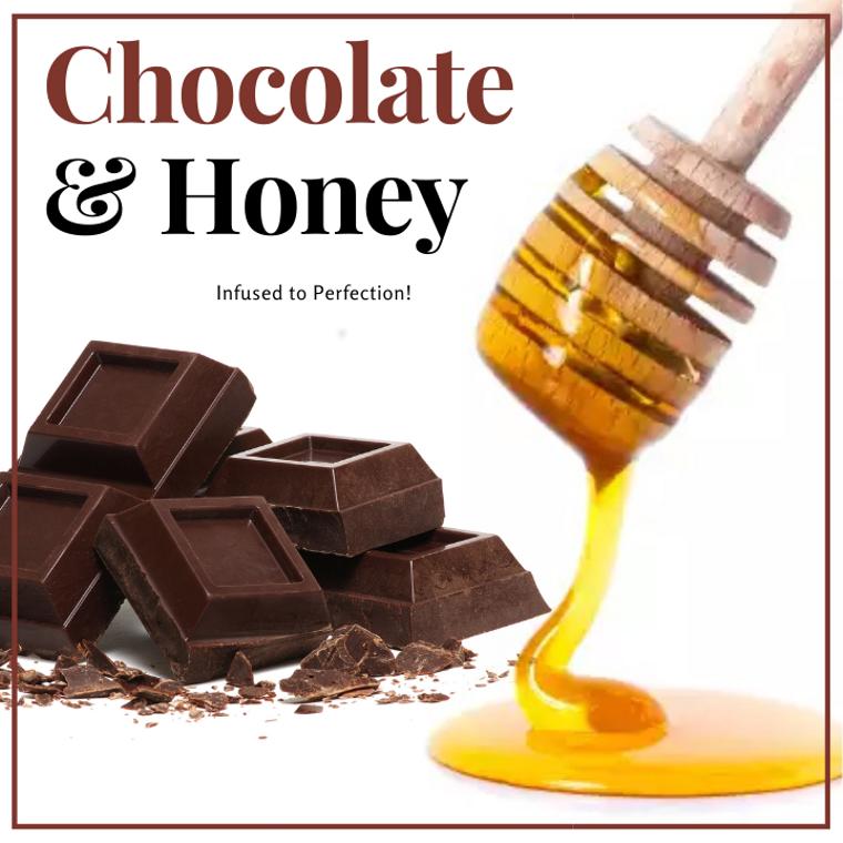 1 LB Chocolate Infused Honey