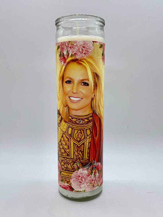 Britney Spears Candle