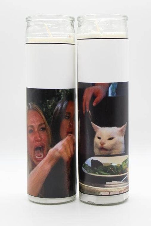 Cat Meme Candle Set