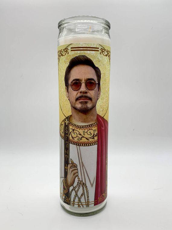 Robert Downey Jr. / Tony Stark Candle