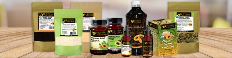 Herbal Papaya 100% Organic, Non GMO Health & Wellness Products