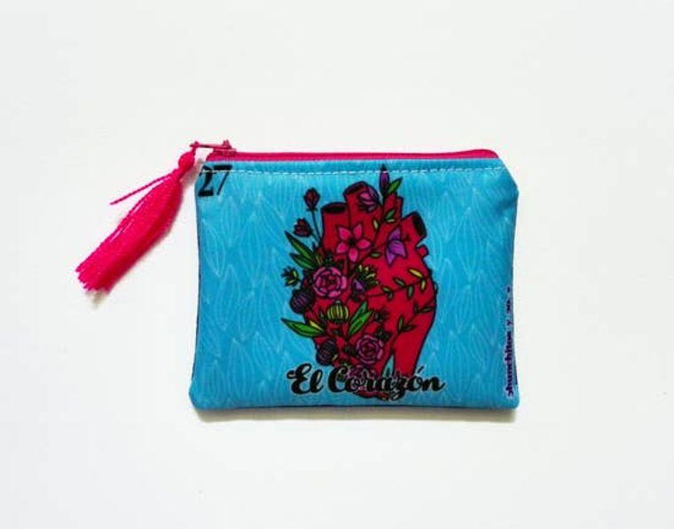 Heart purse, coin purse