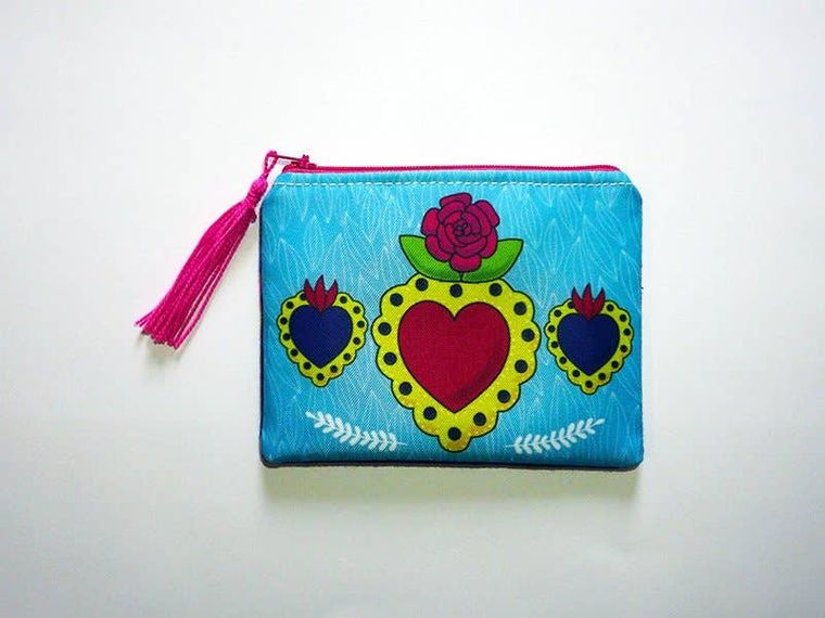 Mexican purse, Mexican style