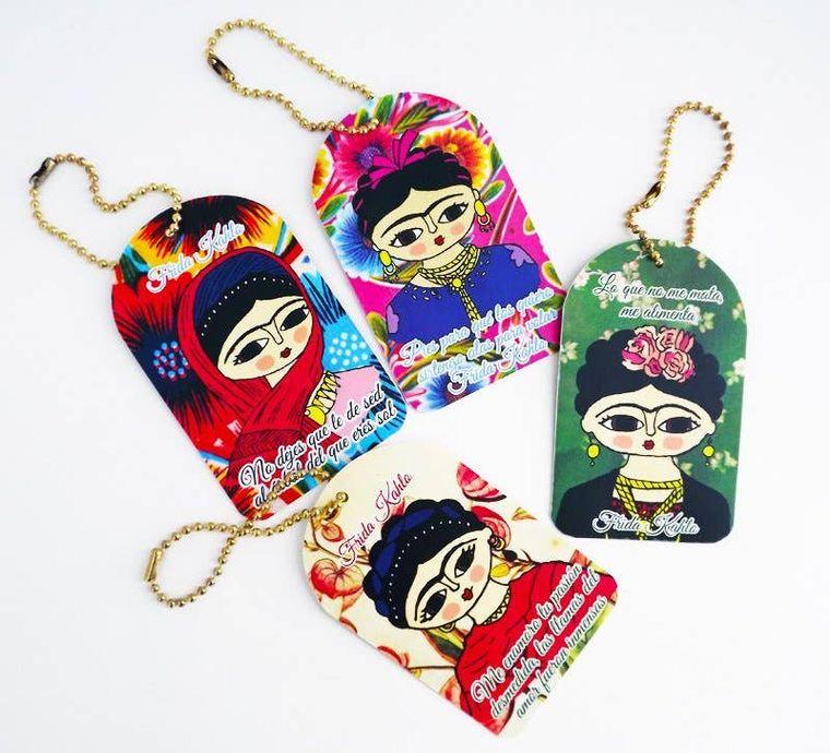 Address labels, Frida kahlo, travel, label