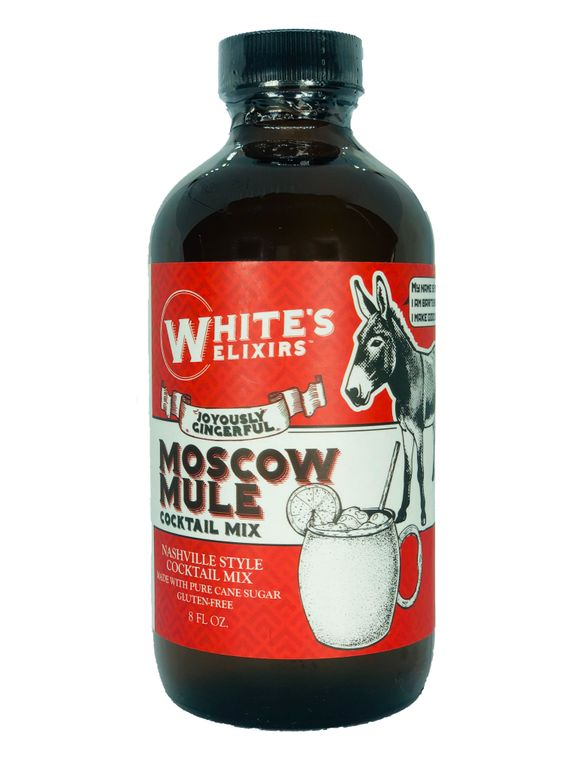 White's Elixirs Moscow Mule Cocktail Mix- 8oz