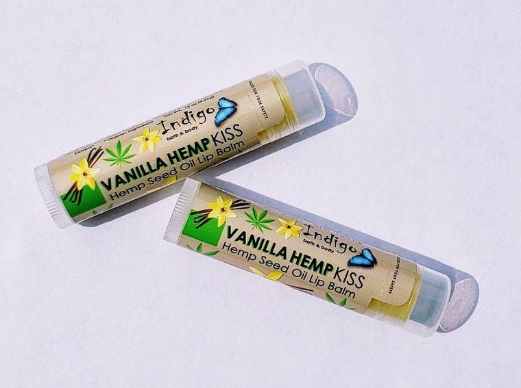Vanilla Hempseed Oil Lip Balm