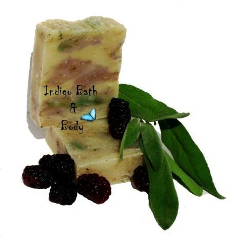 Blackberry Sage Soap (Seasonal)