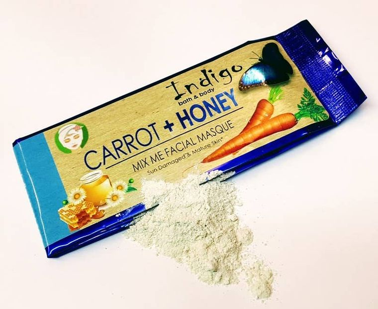 Carrot + Honey - Mix Me Masque