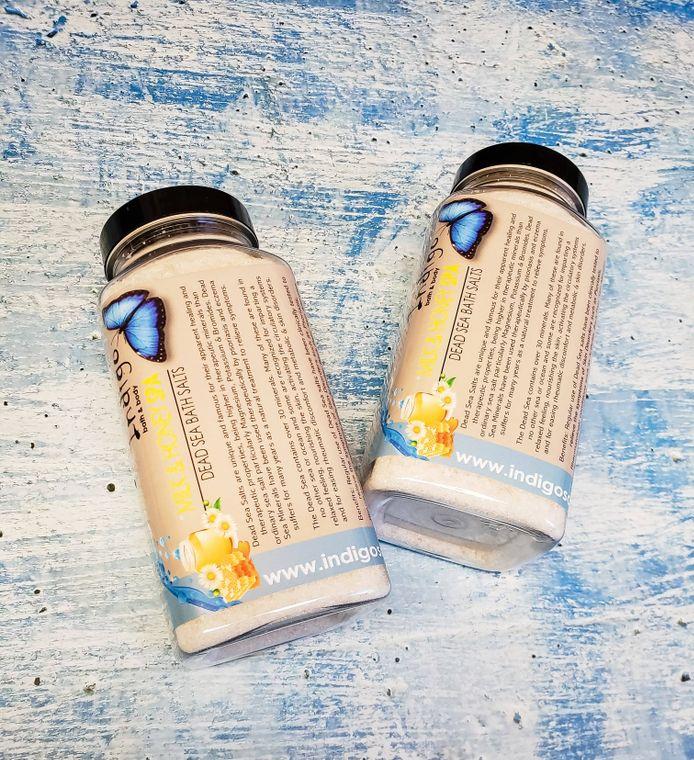 Bath Salt / Soaking Salt - Milk & Honey