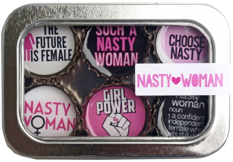 Nasty Woman Magnet - Six Pack
