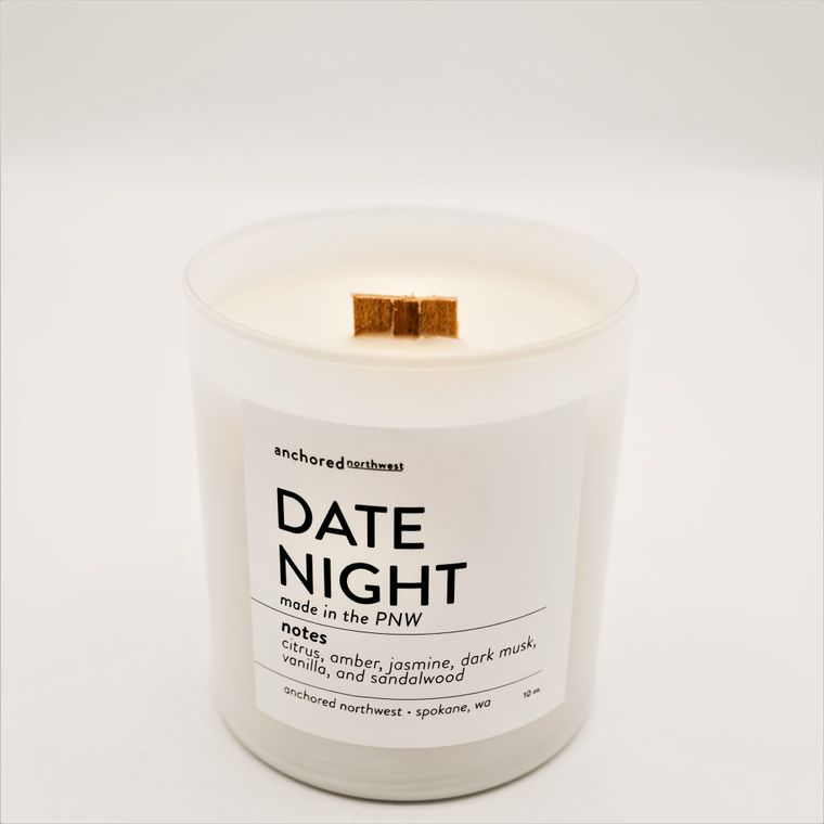 Date Night - White Tumbler w/lid