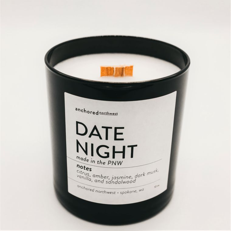 Date Night - Black Tumbler w/lid