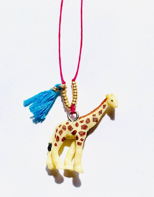 Giraffe Baby Buddy Necklace