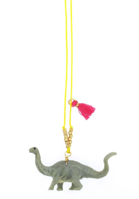Brontosaurus Baby Buddy Necklace